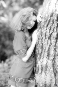 фотосессия летом в лесу
